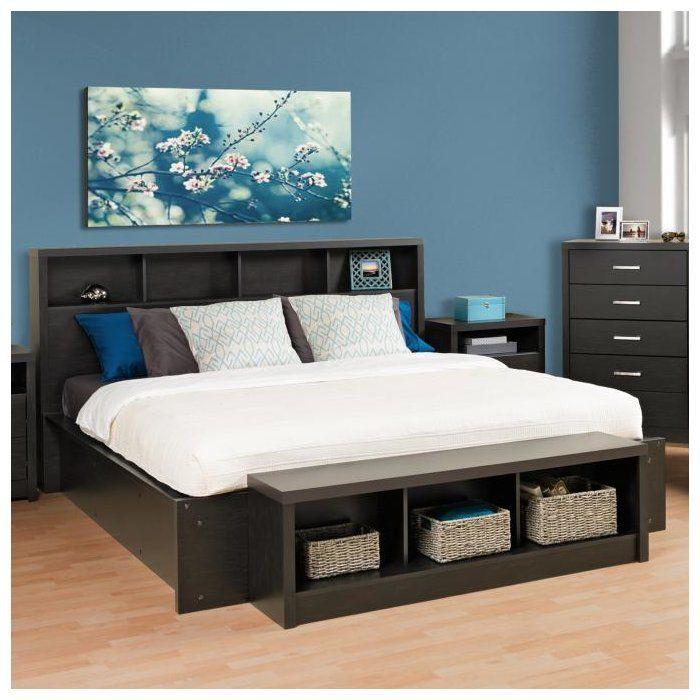 Platform Bedroom Sets King Part - 36: Reiby Platform Bedframe · Black KingBedroom SetsKing ...