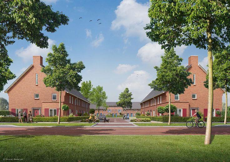 Grote Boel - Boelse Hof - Nijmegen, prijs €213.500,- tot €274.500,-, woonoppervlakte 121 m² tot 144 m². De slingerende Griftdijk met monumentale boerderijen, het bosrijke Park Waaijenstein en de Oosterhoutse Plas: dat zijn de inspiratiebronnen van Grote Boel, het plan waarin Boelse Hof ligt. Het resultaat: een dorpje met statige villa's en huizen met fraaie dorpse architectuur. De tuinen zijn groot, er is veel openbaar groen én Grote Boel ligt aan de Oosterhoutse Plas. Wát een fijn thuis!