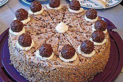 Ferrero - Rocher - Torte (Rezept mit Bild) von bluemoon25 | Chefkoch.de