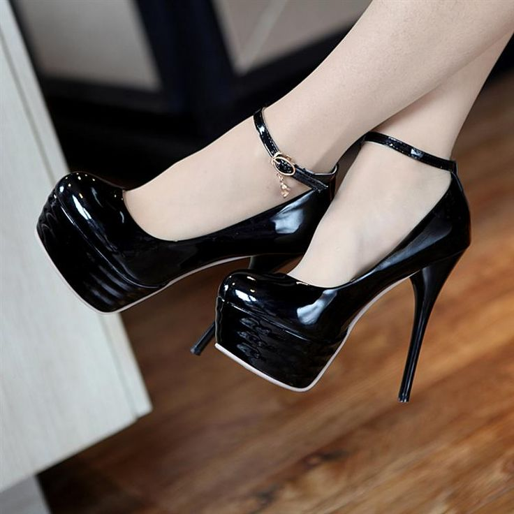 1000  images about ankle strap heels!! YEEH! on Pinterest | Pump ...
