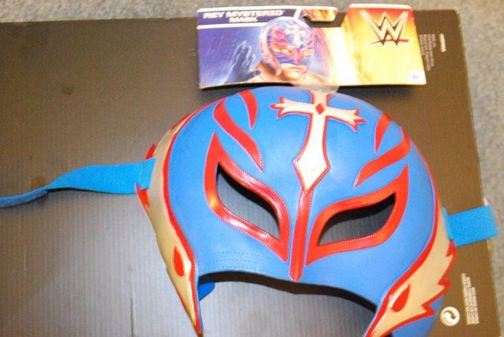 WW WWE WWF LUCHA LIBRE RAY MYSTERIO JR WRESTLING MASK MATTEL NEW TAGS MEXICAN #WWE