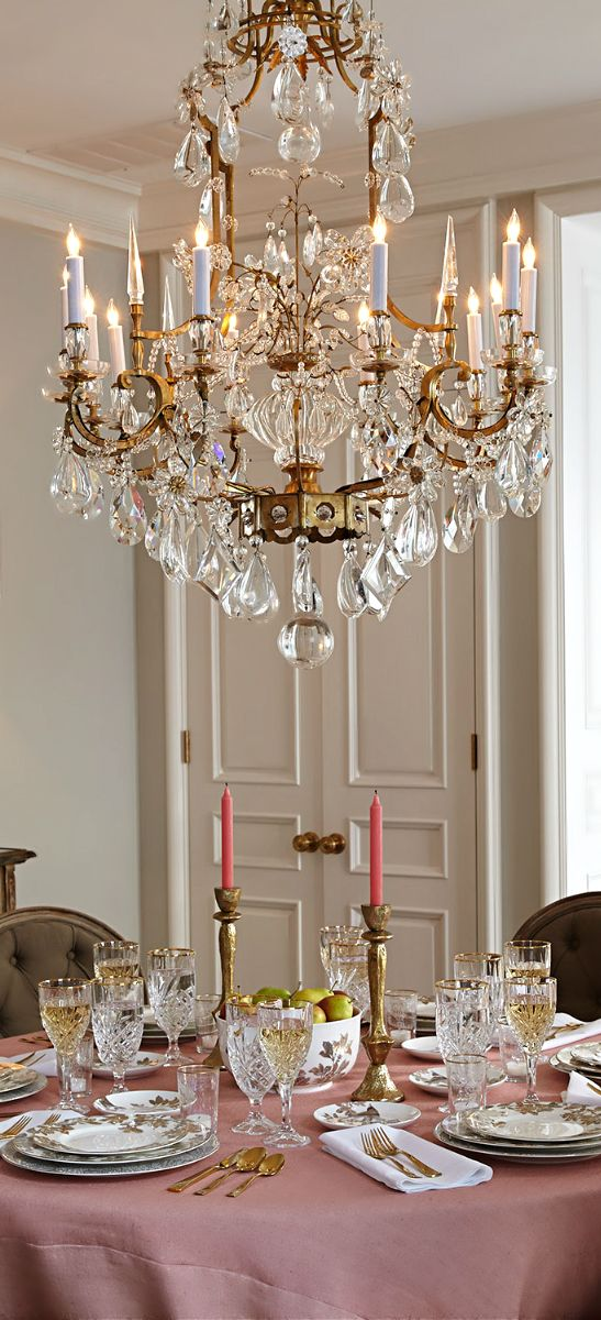 ♔ French Flair ● Dining Room