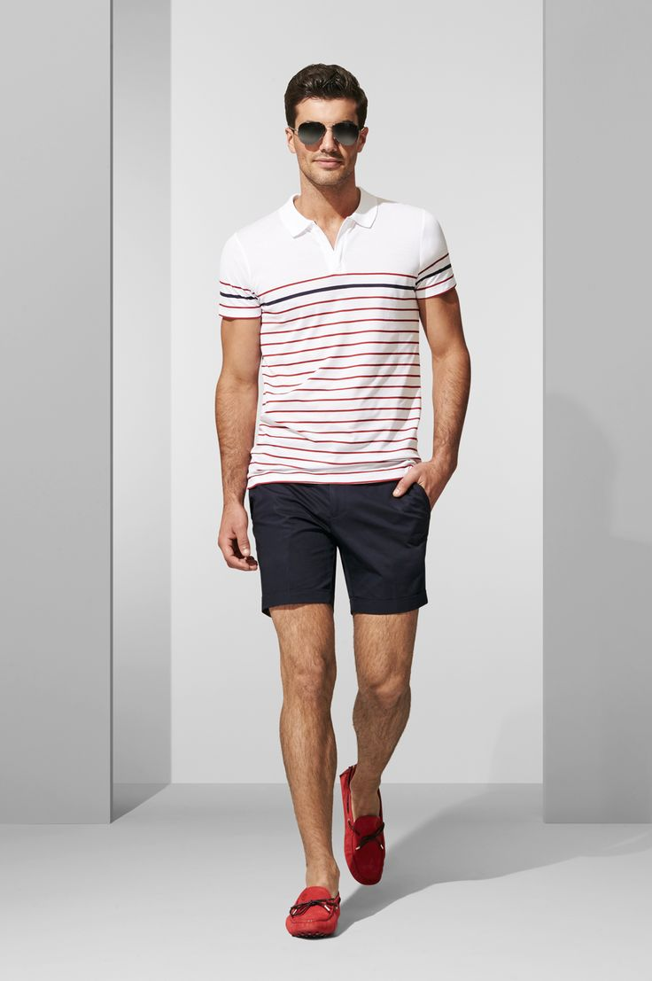 The Leto Polo. Shop the look at http://www.calibre.com.au/lookbook/look-376