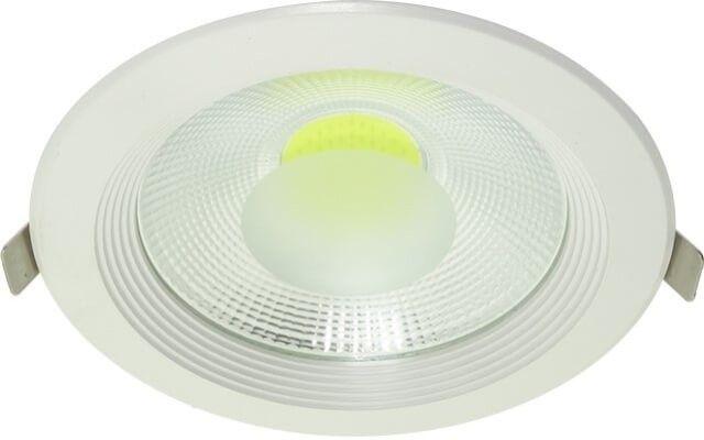 Cu un design care de incadreaza usor in decorul oricarui interior, SPOTUL COB LED 20W DOWNLIGHT ROTUND ALB RECE poate fi folosit in multe aplicatii. Cu un consum mic, de doar 20W este disponibil in doua variante de culoare.