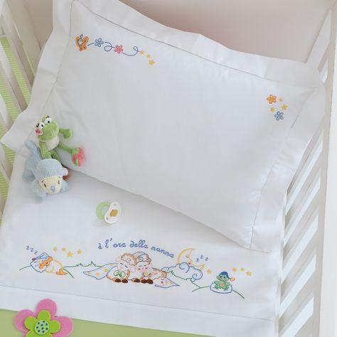 Lenzuolino lettino, disegno carta