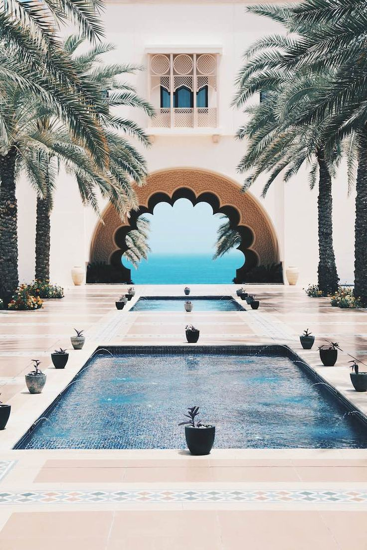 Perfect weekend inspiration … resorts, pools, deep blue sea, boats and gorgeous architecture | These beautiful photos are by Sylvia and Julia Haghjoo @ Hug-You & Number 93 from the The Shangri-La Reso