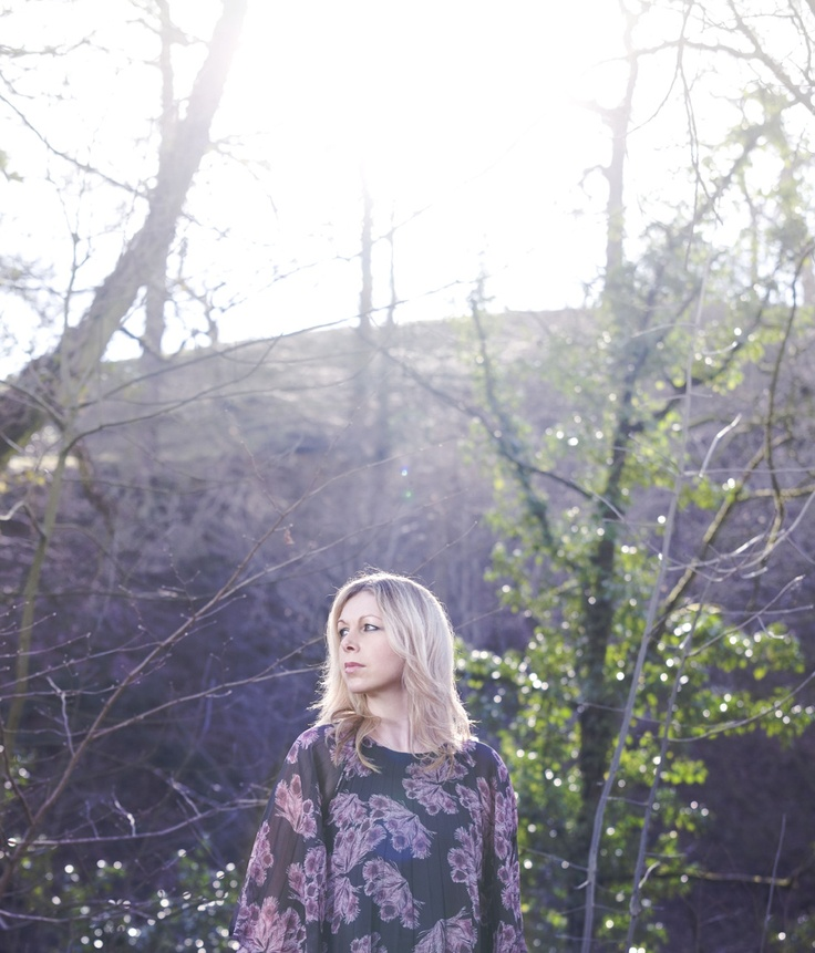 Jane Weaver in an Ivana Helsinki dress. The #singer / #songwriter collaborated with Ivana Helsinki to create a video and the original music for the Indian Summer collection #moodfilm #indiemusic #femalesinger #photography #thewoods