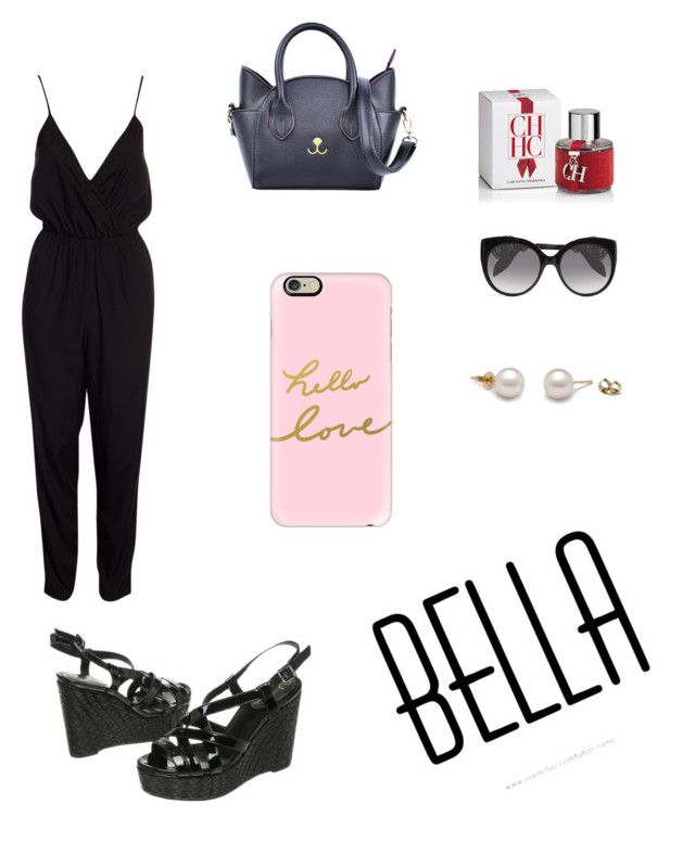 """""""#LookKarenezco"""" by nelson-amui ❤ liked on Polyvore featuring Casetify, NLY Trend, Cole Haan, Alexander McQueen and Carolina Herrera"""