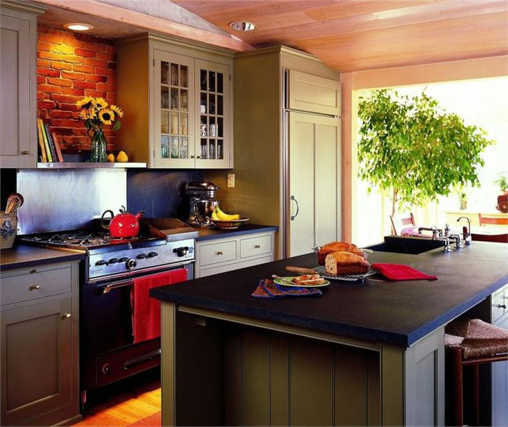 Are Painted Kitchen Cabinets Durable: Best 25+ Slate Kitchen Ideas Only On Pinterest