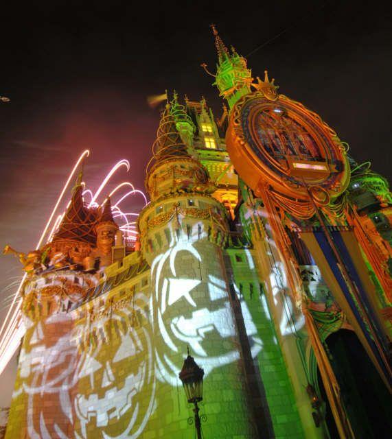 Cinderella's Castle, Halloween, Walt Disney World
