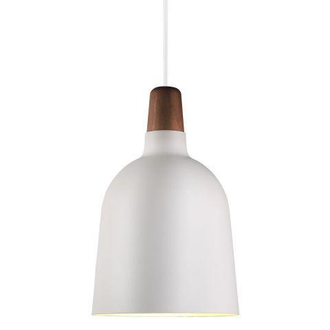 Nordlux Karma Small Metal Pendant Light in White - LightsWorld