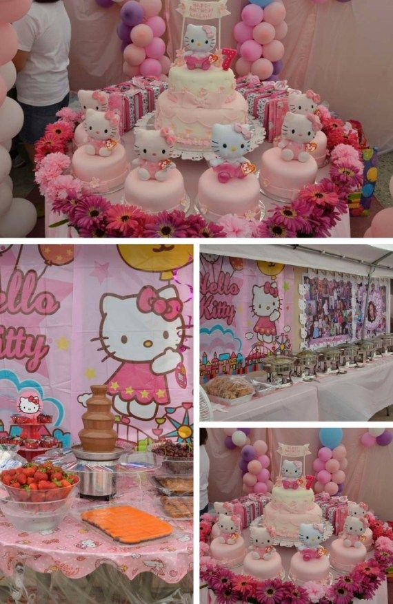 Hello Kitty Party Inspirations Birthday Party Ideas For Kids And Adults Hello Kitty Theme Party Hello Kitty Party Hello Kitty Birthday Party