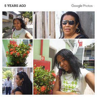 ANNA WILLIAMS: Aniversário da minha mãe hoje!