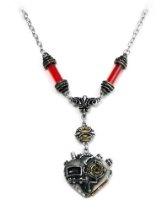 Corvus Machina Alchemy Gothic Pendant Necklace