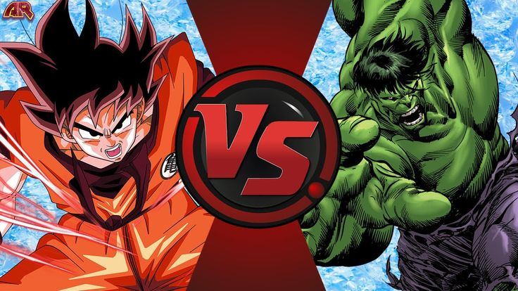 GOKU vs HULK! (Dragon Ball Z vs Marvel) Cartoon Fight Club Episode 187