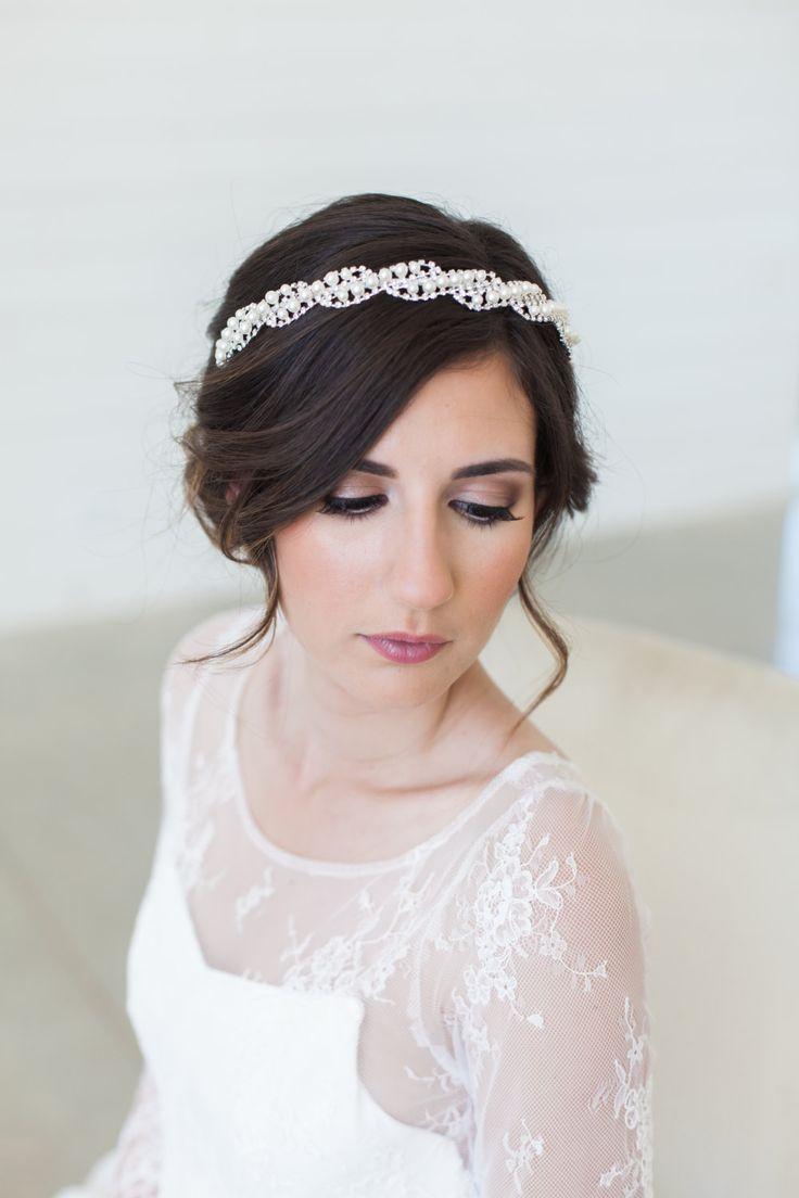 best 25+ headpiece wedding hair ideas on pinterest | wedding
