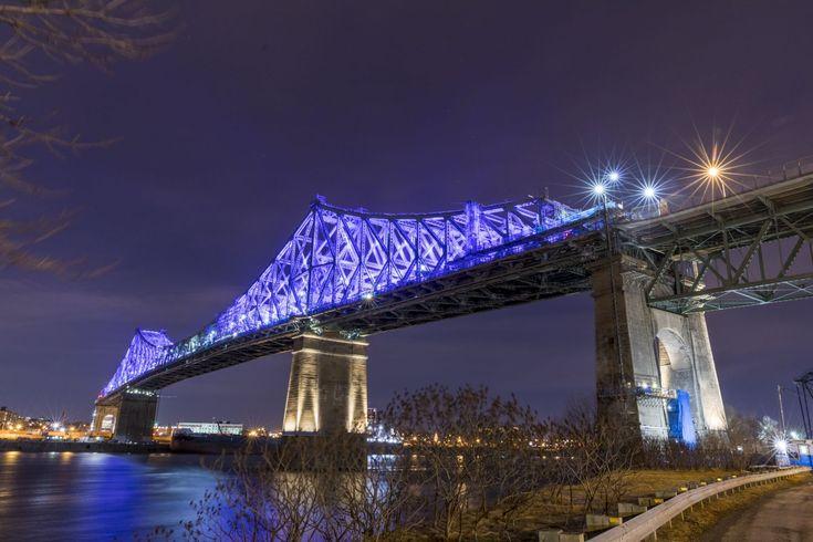 Illumination du pont Jacques-Cartier à Montréal: c'est le 17 mai que ça se passe et ça sera spectaculaire
