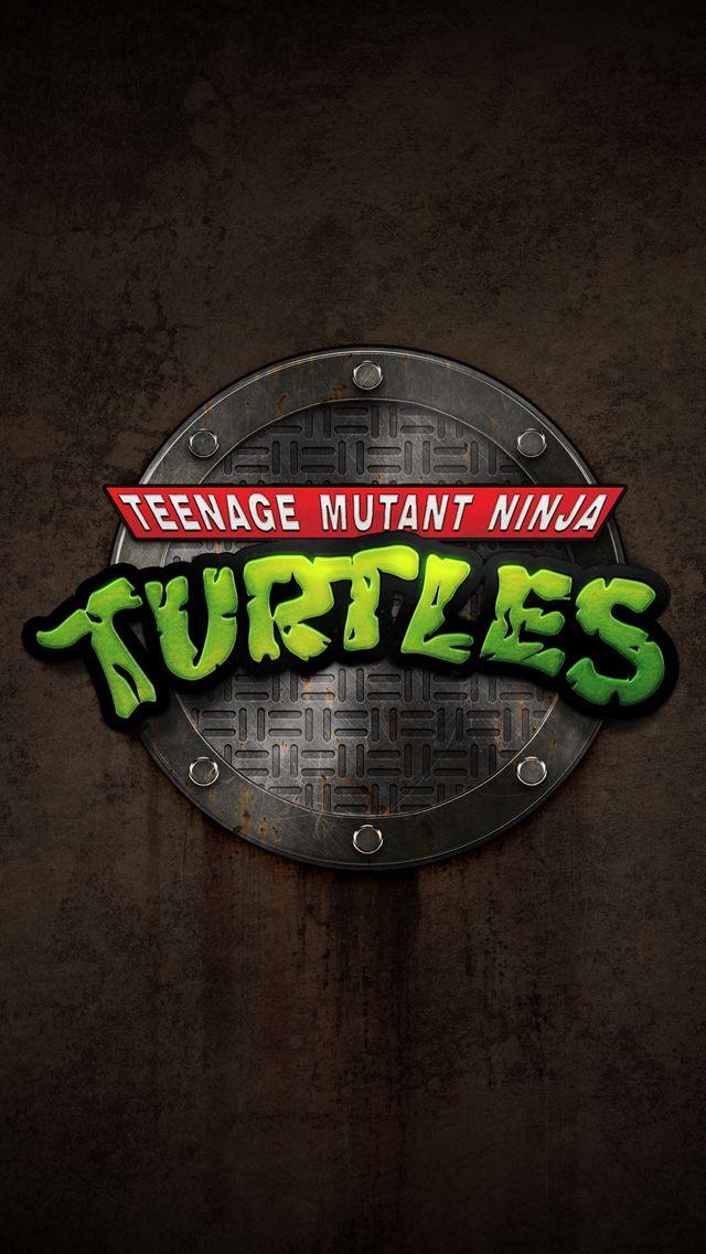 TMNT Teenage Mutant Ninja Turtles Logo iPhone 6 Wallpapers