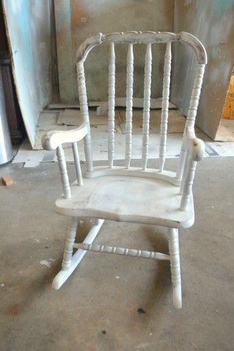 chalk paint and glaze treatment, before (this) and after (subtle)