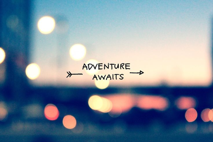 Happy Monday ! Adventure awaits !