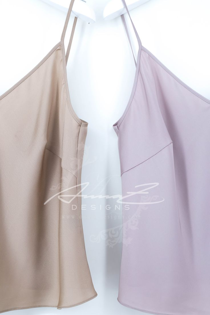 AnnaZDesignsBusiness Collection 2017 - Glen tops in silk