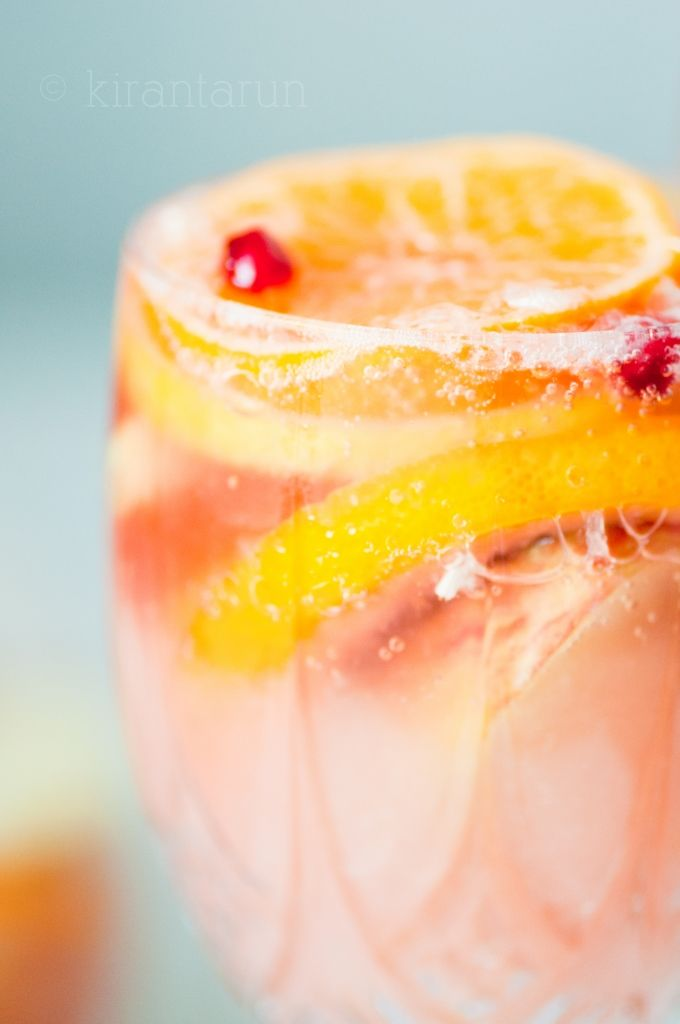 Citrus Champagne Sangria! Mmmm…. Perfect sips to ease into a relaxing weekend. Now go make some and thank me later.