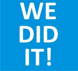 What a success!