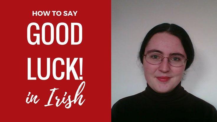 Lucky In Gaelic