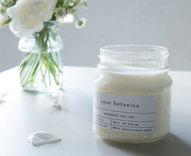 BROOKLYN CANDLE. Our organic Rose Botanica Brooklyn candles are made with 100% soy derived from American-grown soy for an eco-friendly, clean burn. Comes in lovely mason jars.