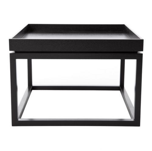 TIME Sofa Table Black Stolik