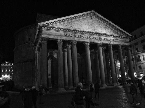 Pantheon - B&W