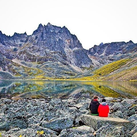 If you're planning a trip to the Yukon Territory try to include a visit to Tombstone Territorial Park in late August when the tundra is ablaze with colour. Better yet backpack into Grizzly Lake for at least a night