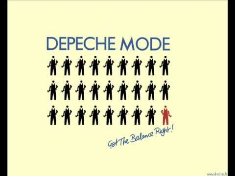 dEpEchE modE- Get The Balance Right! - YouTube
