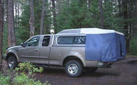 Dac Da2 Full Size Truck Cap Tent Truck Bed Tent