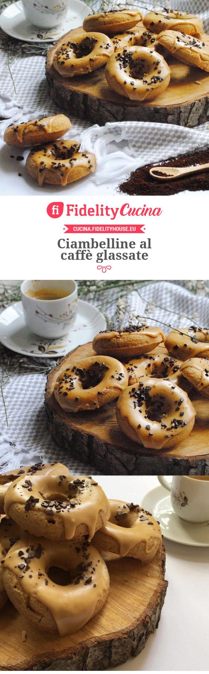 Ciambelline al caffè glassate