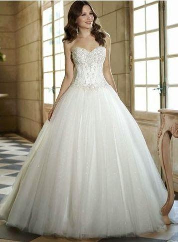 Como buscar vestidos de novia