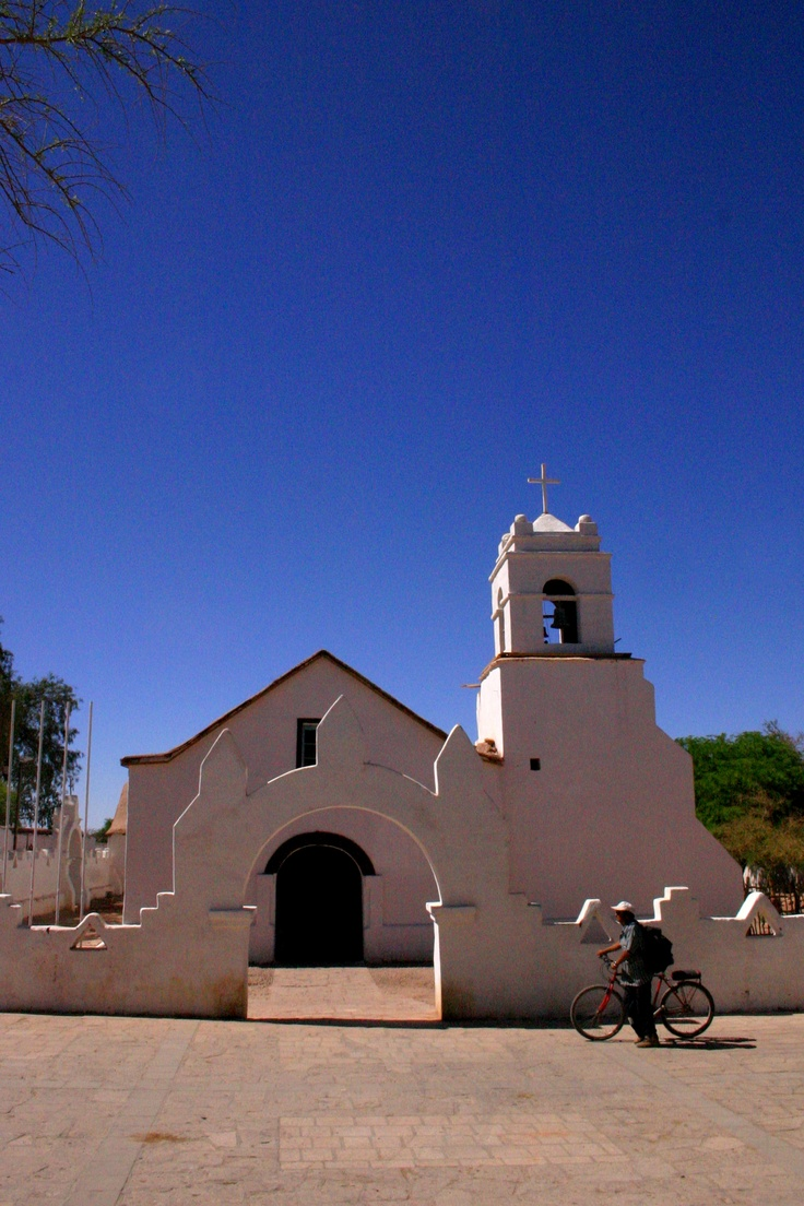 Iglesia de San Pedro de Atacama/ San Pedro de Atacama Church, II región, Chile.