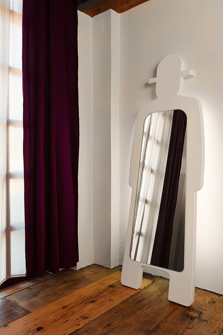 Mr. Gio Light Specchio, design Giò Colonna Romano