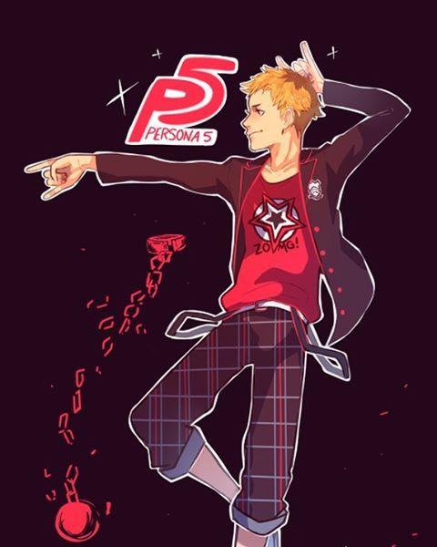P5 Ryuji - Breaking out