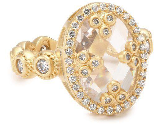 "Freida Rothman Belargo Jewelry ""Metropolitan"" Mirror Oval Ring, Size 8 Freida Rothman Belargo Jewelry. $145.00. Made in CN"