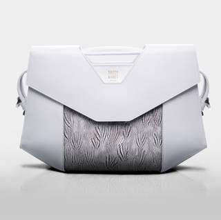 Sacco Baret Vendome Exception Silver Pheasant Handbag