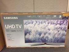 "Samsung UN55MU7000 55"" Smart LED 4K Ultra HD TV with HDR (2017 model)"
