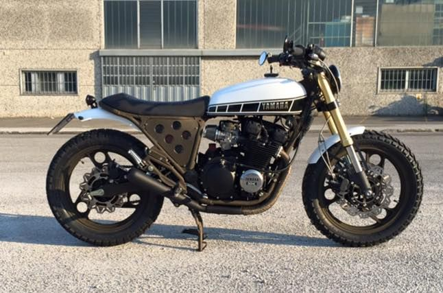 "Yamaha Xj 600 ""IMPERTINENTE"" – Tondo Garage"