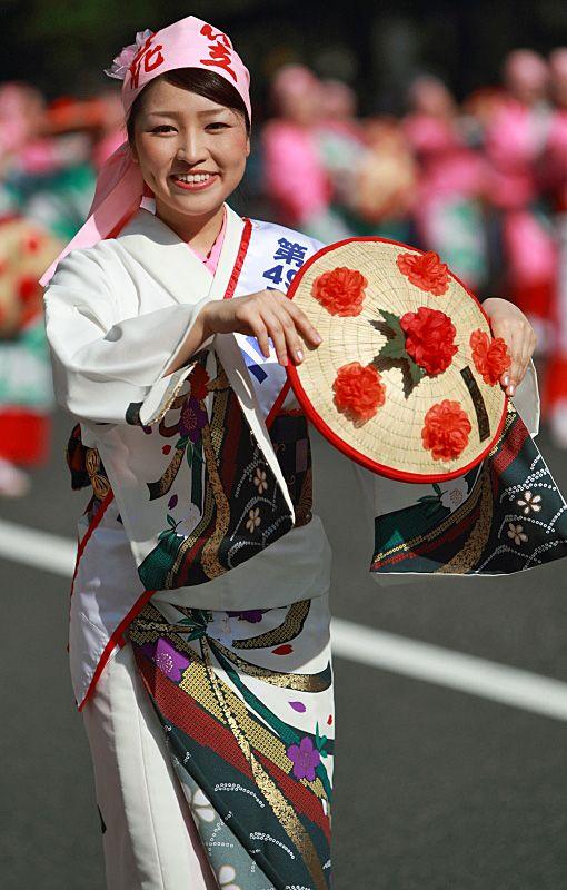 山形花笠まつり Yamagata Hanagasa Festival, Japan