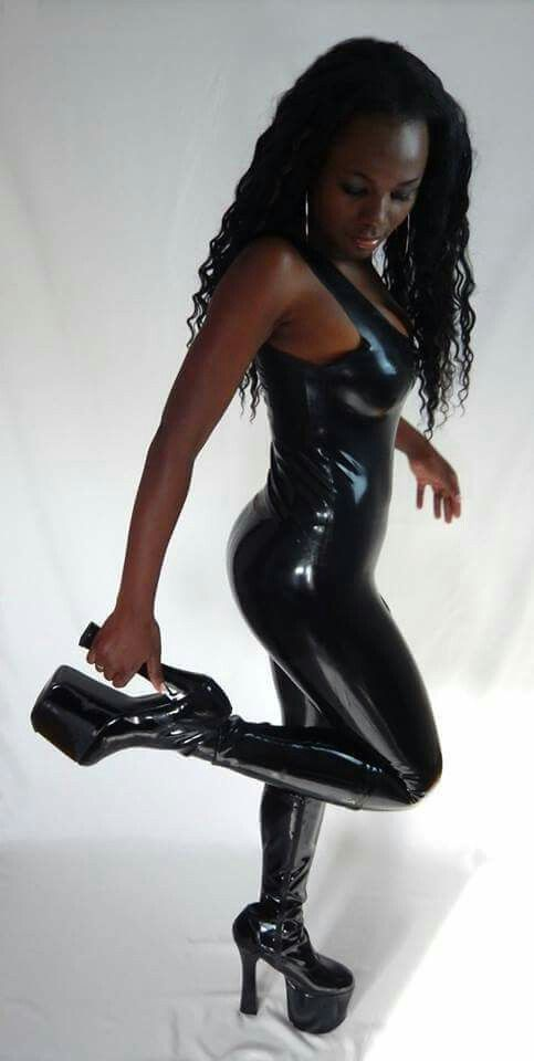 Image result for lexxi brown latex  ebony  Pinterest