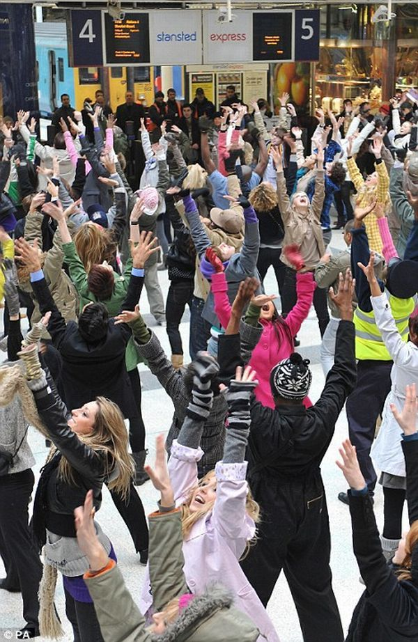 February 28th we are taking a field trip to Town Square to do a flash mob! Get your dancing skills ready!!!