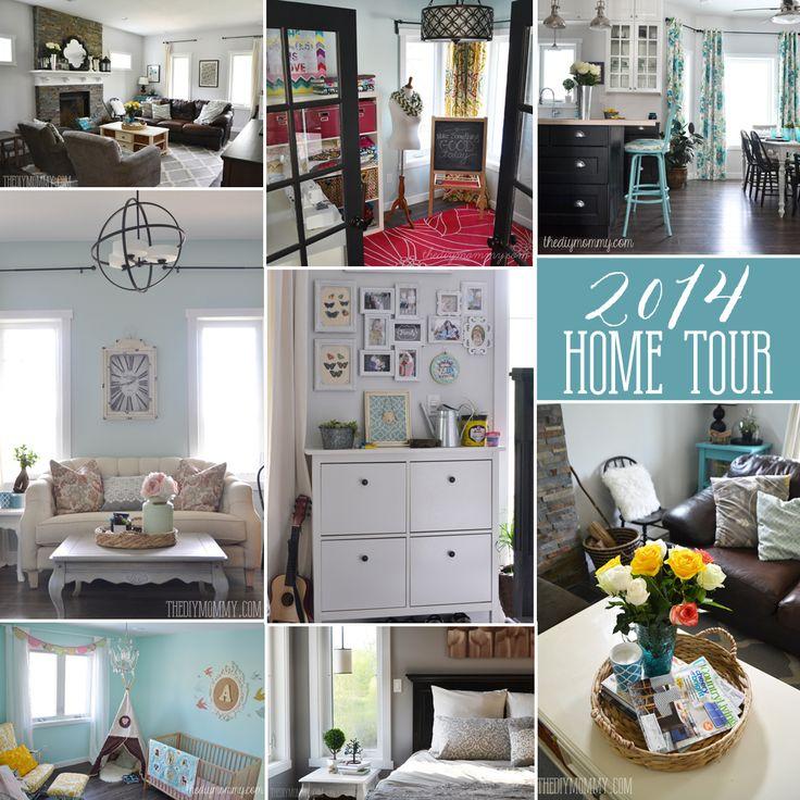 Our DIY House 2014 Home Tour