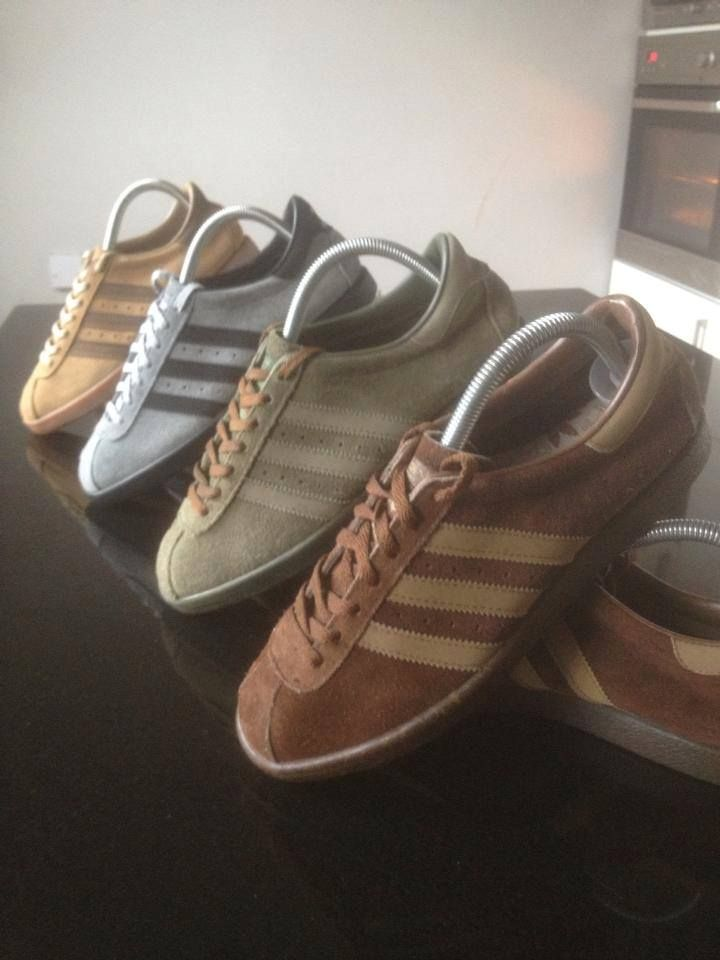 UK 80's Casual - Adidas suedes