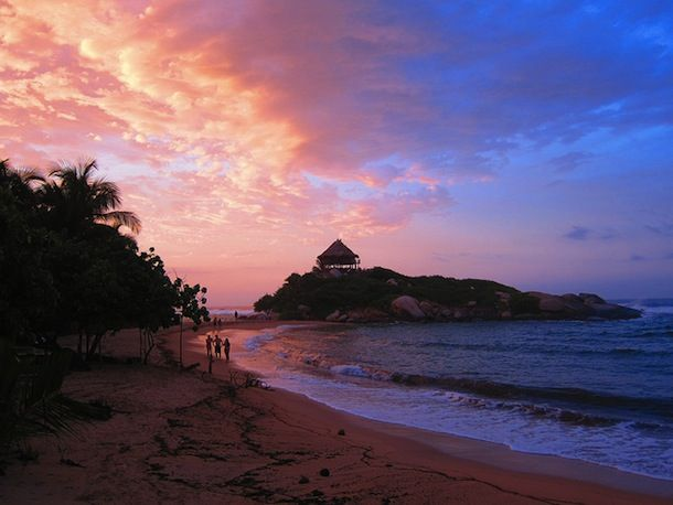 Sunset on Cabo San Juan | colombia4u