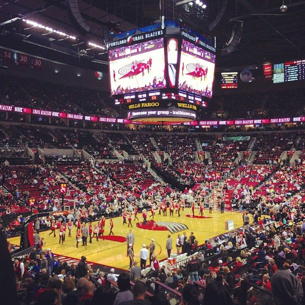 Moda Center - Can't forget my PORTLAND TRAILBLAZERS! this is OUR HOUSE! (formally the Rose Garden)